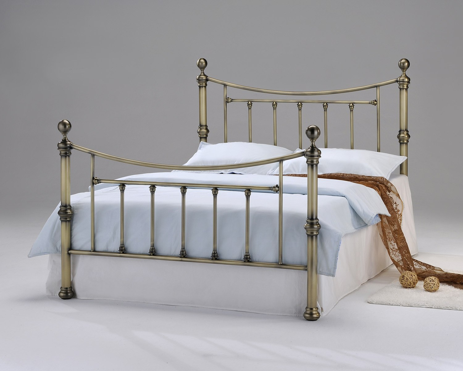 Ameretto metal bed frame Available from the World of Beds, Askern, Doncaster, South Yorkshire