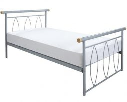 Drealand Alice, metal frame bedAvailable from the World of Beds, Askern, Doncaster, South Yorkshire