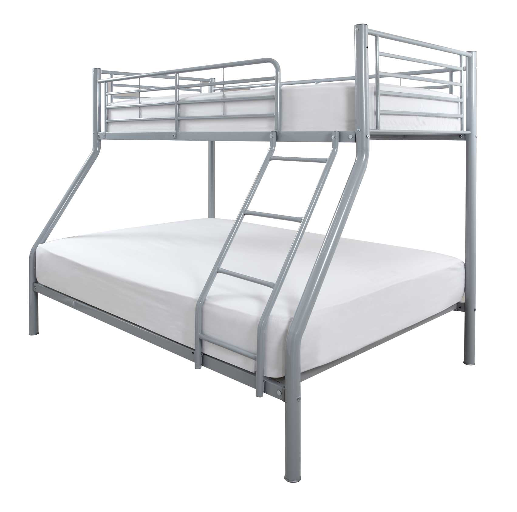 Crowther Silver Duo Bunk Beds The World Of Beds