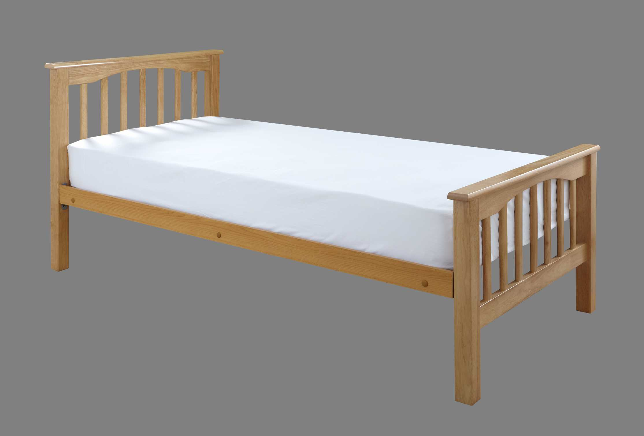 Crowther beech sandra high foot end bed the world of beds for Foot of bed furniture
