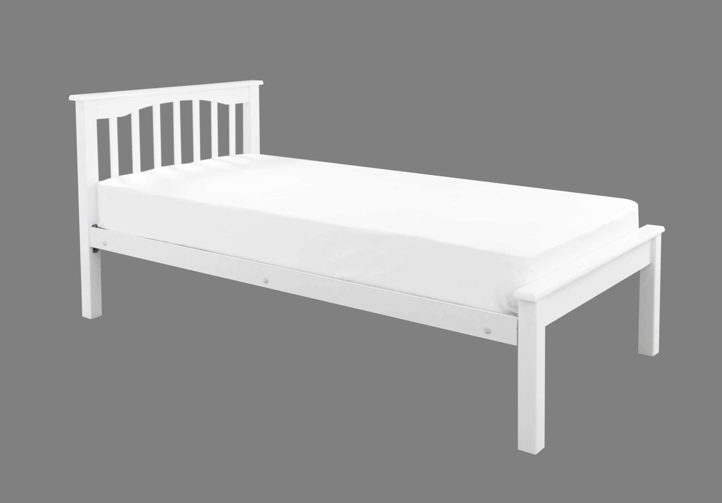 Crowther White Sandra Low Foot End Bed