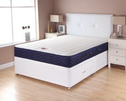 CATALINA MEMORY WHITE BASE NAVY MATTRESS