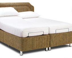 Sherborne hampton adjustable bed available from the world of beds, doncaster, south yorkshire