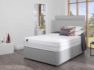 The Salus Premier 1500 Viscoool Divan Bed available from the world of beds