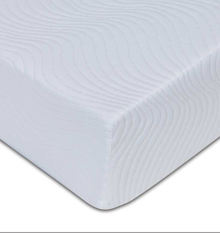 Viscofoam 250, 20cm deep, 2.5cm memory, non quilt removable cover available from the world of beds, doncaster, south yorkshire