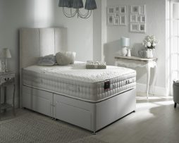 The Backcare 3000 divan bed available from the world of beds, doncaster