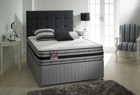 The Myer 2000 divan bed available from the world of beds, doncaster