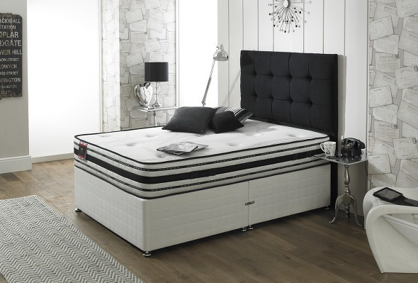 The Tencil 1000 divan bed available from the world of beds, doncaster