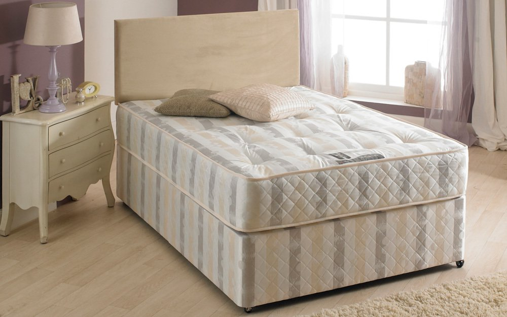 La Romantica Shakespear Extra Firm Divan The World Of Beds
